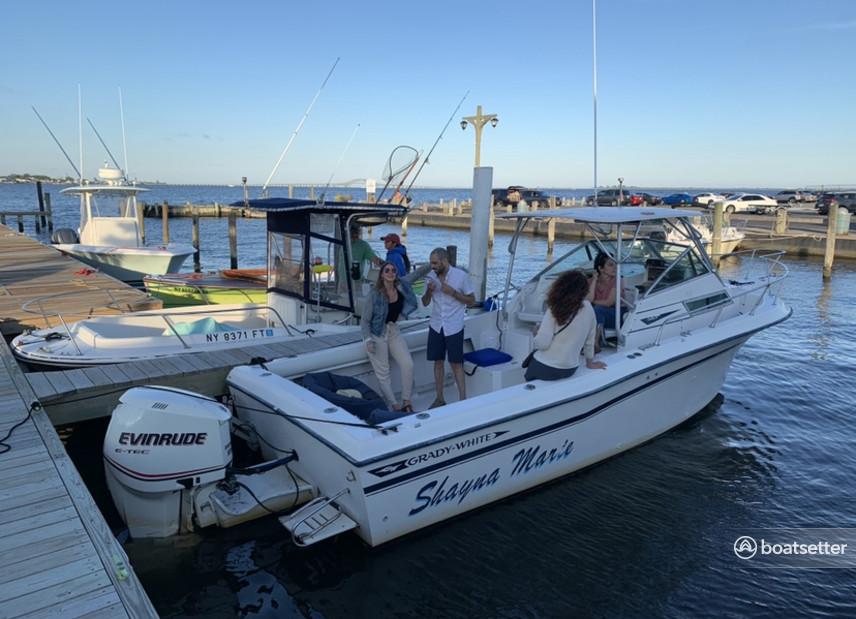 Rent a Grady-White Boats cuddy cabin in Bay Shore, NY near me