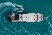 70 ft. Marlow 70 Flybridge Boat Rental San Diego Image 4