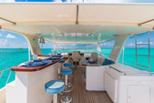 70 ft. Marlow 70 Flybridge Boat Rental San Diego Image 7