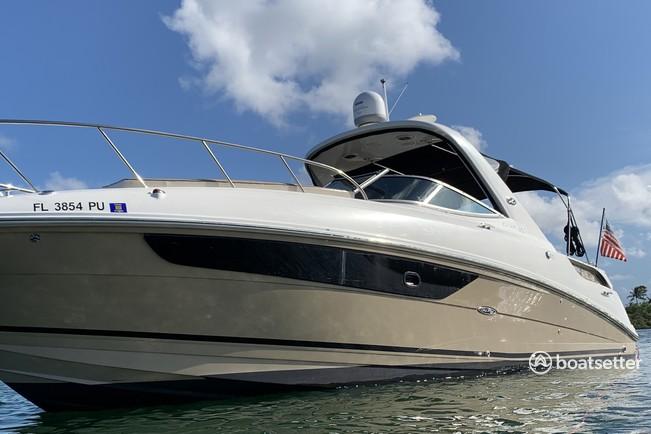 Rent a Sea Ray Boats express cruiser in Aventura, FL near me