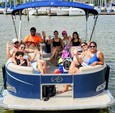 22 ft. Avalon Pontoons 22' LSZ Fish Pontoon Boat Rental N Texas Gulf Coast Image 13