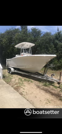 Rent a TideWater Boats center console in Mount Pleasant, SC near me