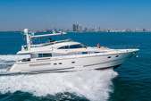 64 ft. Fairline Boats 64' Motor Yacht Boat Rental Miami Image 4