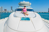 64 ft. Fairline Boats 64' Motor Yacht Boat Rental Miami Image 6
