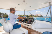 64 ft. Fairline Boats 64' Motor Yacht Boat Rental Miami Image 17