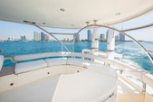 64 ft. Fairline Boats 64' Motor Yacht Boat Rental Miami Image 18