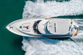 64 ft. Fairline Boats 64' Motor Yacht Boat Rental Miami Image 5