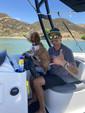 18 ft. Bayliner Element XL 4-S Mercury  Deck Boat Boat Rental Los Angeles Image 8