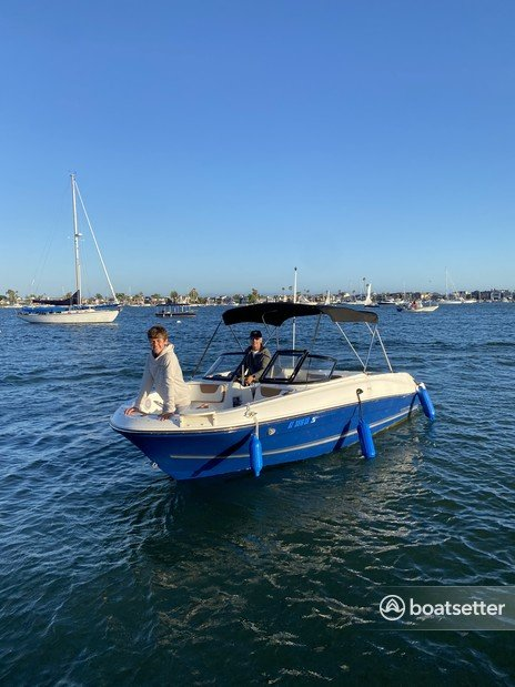 Rent a Bayliner bow rider in Newport Beach, CA near me