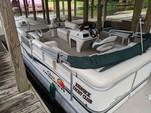 22 ft. Sun Tracker by Tracker Marine Party Barge 20 Classic w/60ELPT 4-S Pontoon Boat Rental N Texas Gulf Coast Image 3