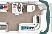 22 ft. Sun Tracker by Tracker Marine Party Barge 20 Classic w/60ELPT 4-S Pontoon Boat Rental N Texas Gulf Coast Image 6