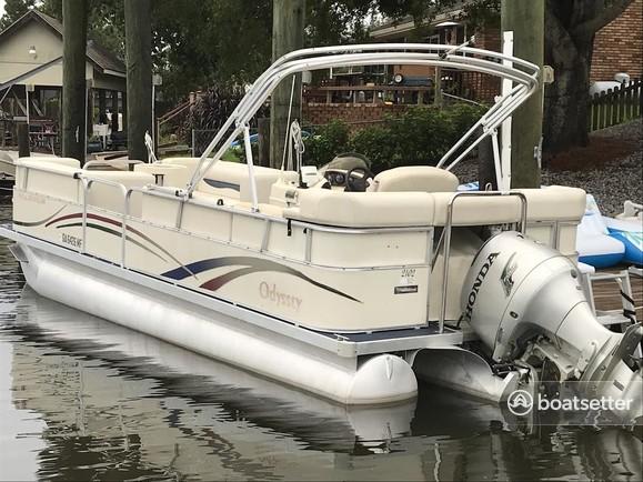 Rent a Odyssey Pontoons pontoon in Slidell, LA near me
