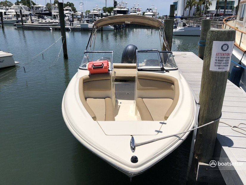 Rent a Scout Boats deck boat in Sarasota, FL near me