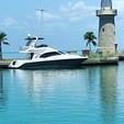 52 ft. Sea Ray Boats 52 Sedan Bridge Cruiser Boat Rental Miami Image 24