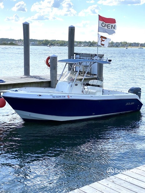 Rent a Polar Boats center console in Point Pleasant, NJ near me