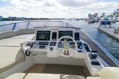 70 ft. Azimut Flybridge Motor Yacht Boat Rental Miami Image 14