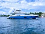 70 ft. Azimut Flybridge Motor Yacht Boat Rental Miami Image 35