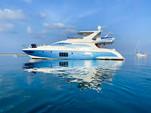 70 ft. Azimut Flybridge Motor Yacht Boat Rental Miami Image 36