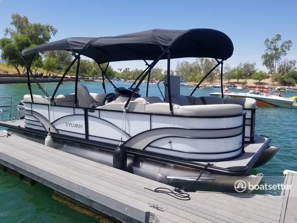 Rent a sylvan pontoon in Lake Havasu City, AZ near me
