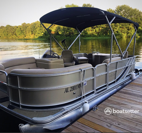 Rent a South Bay pontoon in Columbiana, AL near me