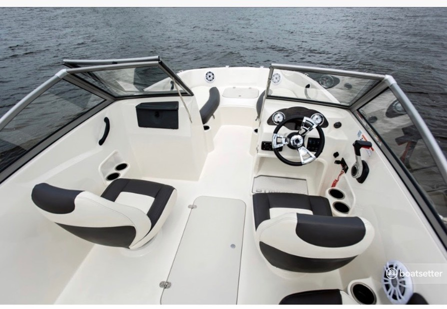 Rent a Stingray Boats bow rider in Tampa, FL near me