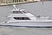 70 ft. Hatteras Yachts 70 Convertible Motor Yacht Boat Rental Miami Image 3