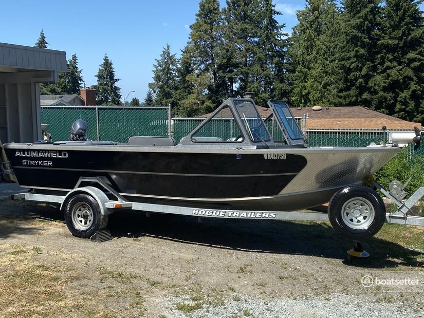 Rent a Alumaweld Boats aluminum fishing in Renton, WA near me
