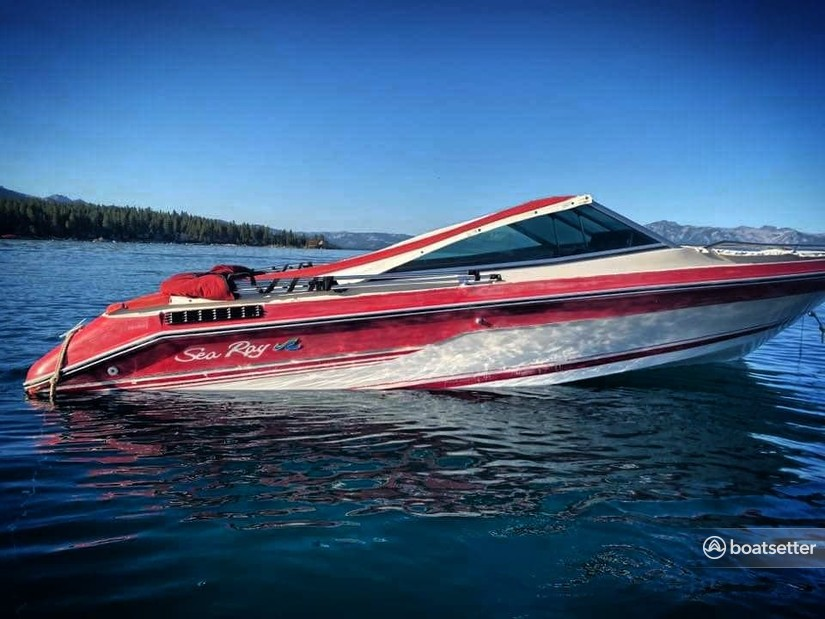 Rent a Sea Ray Boats bow rider in Glenbrook, NV near me