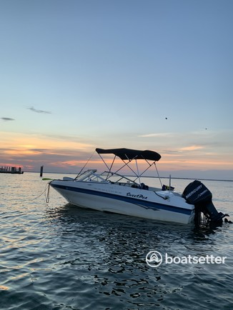 Rent a Bayliner bow rider in Blue Point, NY near me