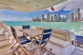 29 ft. 63' Sunseeker Flybridge Boat Rental Miami Image 12