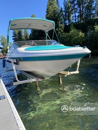 Rent a Larson Boats bow rider in Harrison, ID near me
