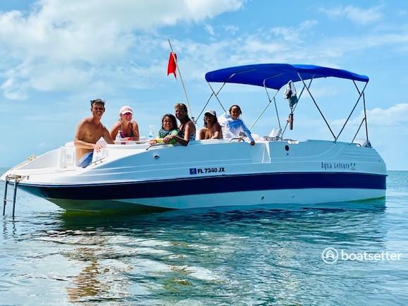 Rent a Cobia Boats deck boat in Marathon, FL near me