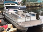 26 ft. Sun Tracker by Tracker Marine Party Barge 24 Signature w/115ELPT Opti Pontoon Boat Rental New York Image 4