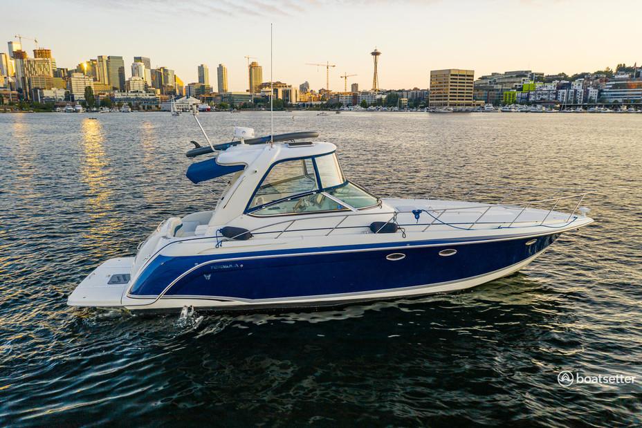 Rent a Formula by Thunderbird cruiser in Seattle, WA near me