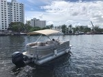 22 ft. Godfrey Marine Sweetwater 2286 Pontoon Boat Rental Miami Image 8