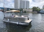 22 ft. Godfrey Marine Sweetwater 2286 Pontoon Boat Rental Miami Image 9