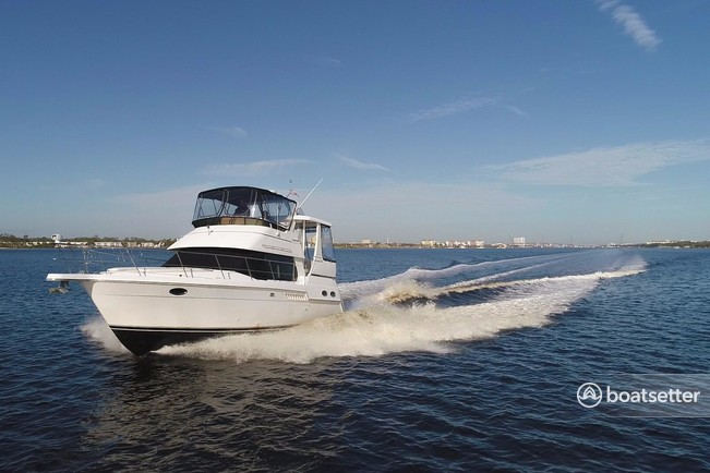 Rent a Carver Yachts motor yacht in Riviera Beach, FL near me