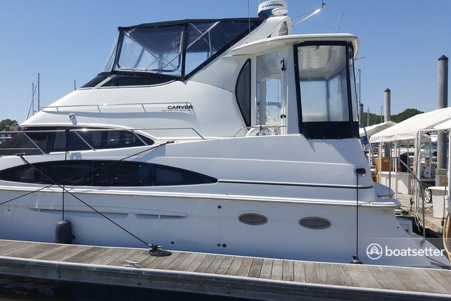 Rent a Carver Yachts cruiser in League City, TX near me