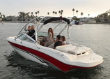 21 ft. Sea Ray Boats 200 Bow Rider  Bow Rider Boat Rental Los Angeles Image 4