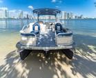 24 ft. Premier Marine 231 Cast-A-Way RE Triple Tube Deck Boat Boat Rental Miami Image 5