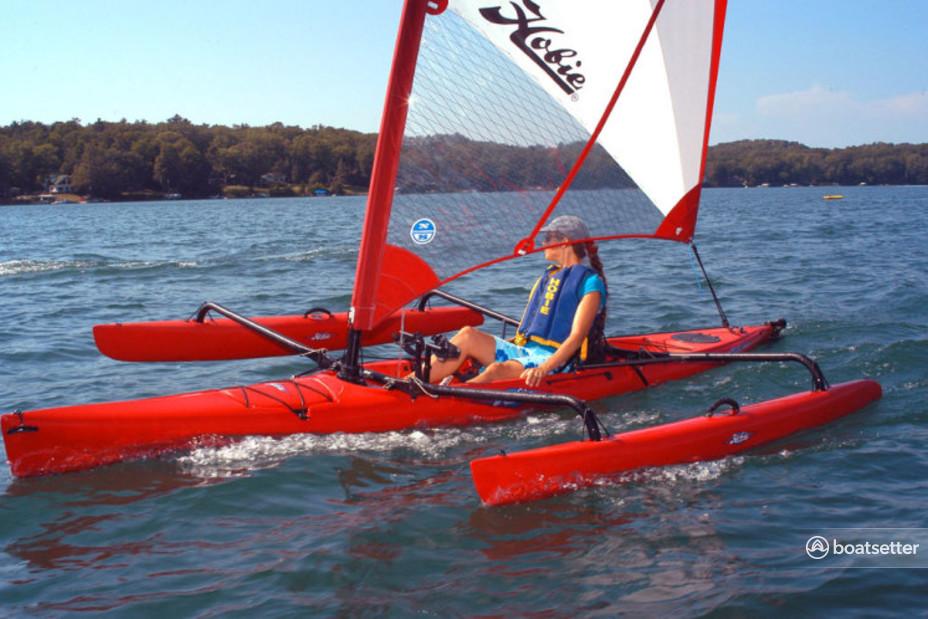 Rent a Hobie catamaran in Seattle, WA near me