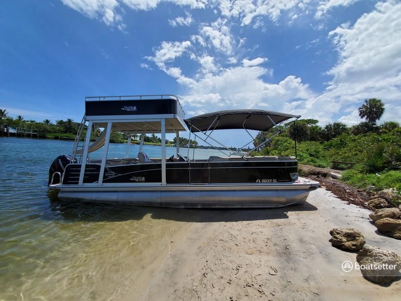 Rent a Avalon Pontoons pontoon in Jupiter, FL near me