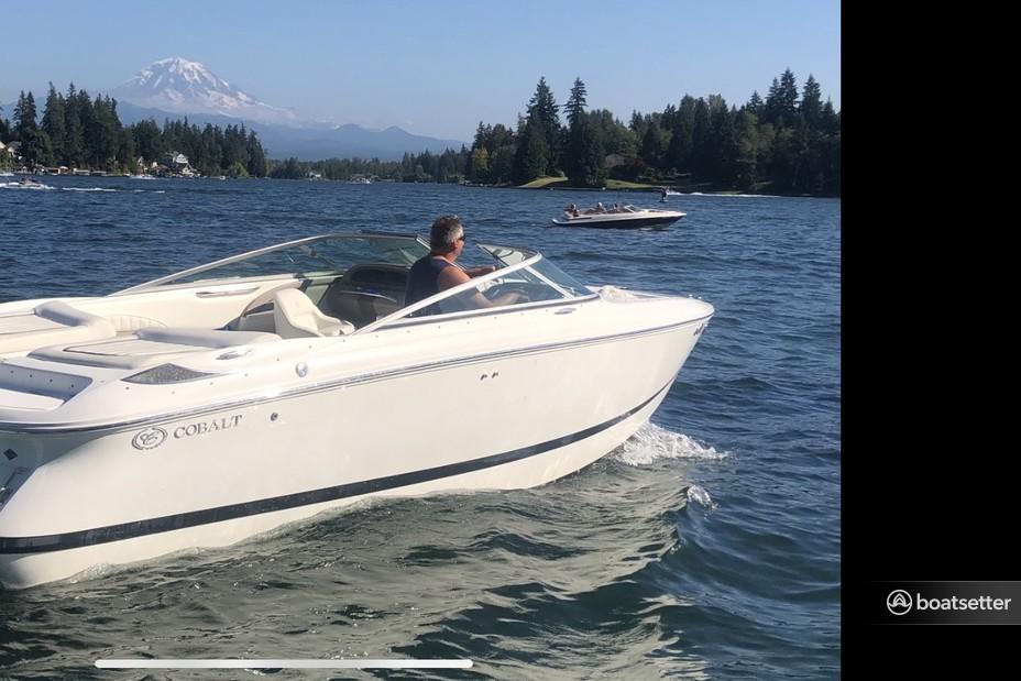 Rent a Cobalt bow rider in Bonney Lake, WA near me