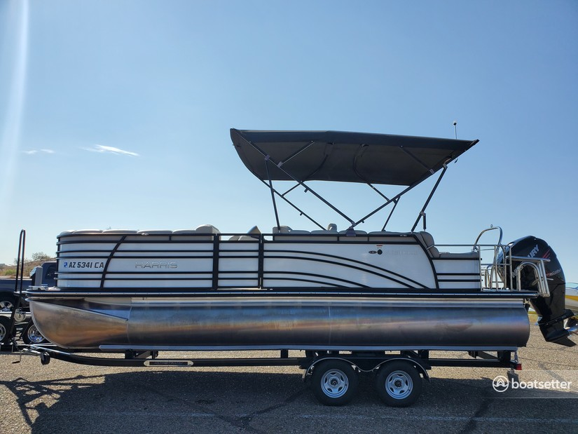 Rent a Harris FloteBote pontoon in Morristown, AZ near me
