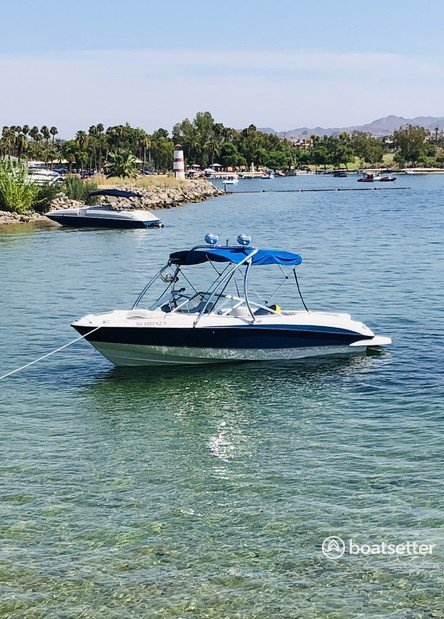 Rent a Bayliner bow rider in Huntington Beach, CA near me