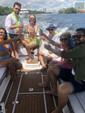 25 ft. Nautique G25 Coastal Addition Ski And Wakeboard Boat Rental Miami Image 9