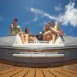 25 ft. Nautique G25 Coastal Addition Ski And Wakeboard Boat Rental Miami Image 11