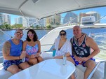 50 ft. Dyna 50' Flybridge Motor Yacht Boat Rental Miami Image 15