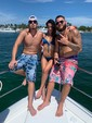 50 ft. Dyna 50' Flybridge Motor Yacht Boat Rental Miami Image 22