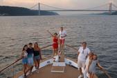 80 ft. Chris Craft Roamer Motor Yacht Boat Rental New York Image 3